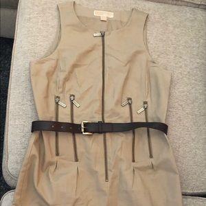 Michael Kors tan dress